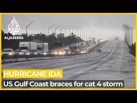 Download Hurricane Ida: US Gulf Coast prepares for 'dangerous' storm