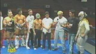 Luchadores contra jugadores americanistas.mpg