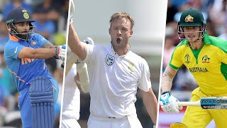 AB de Villiers names the top batters he's played with and against