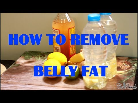 HOW TO REMOVE BELLY FAT IN A SINGLE NIGHT DRINKING IN THE MORNING