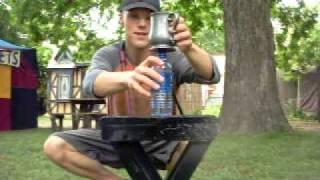 Bullwhip Cracking: Bottle Tricks