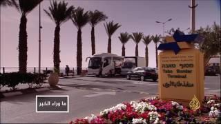 إغلاق إسرائيل معبر طابا..لتفجيرات الكنائس في مصر ما بعدها