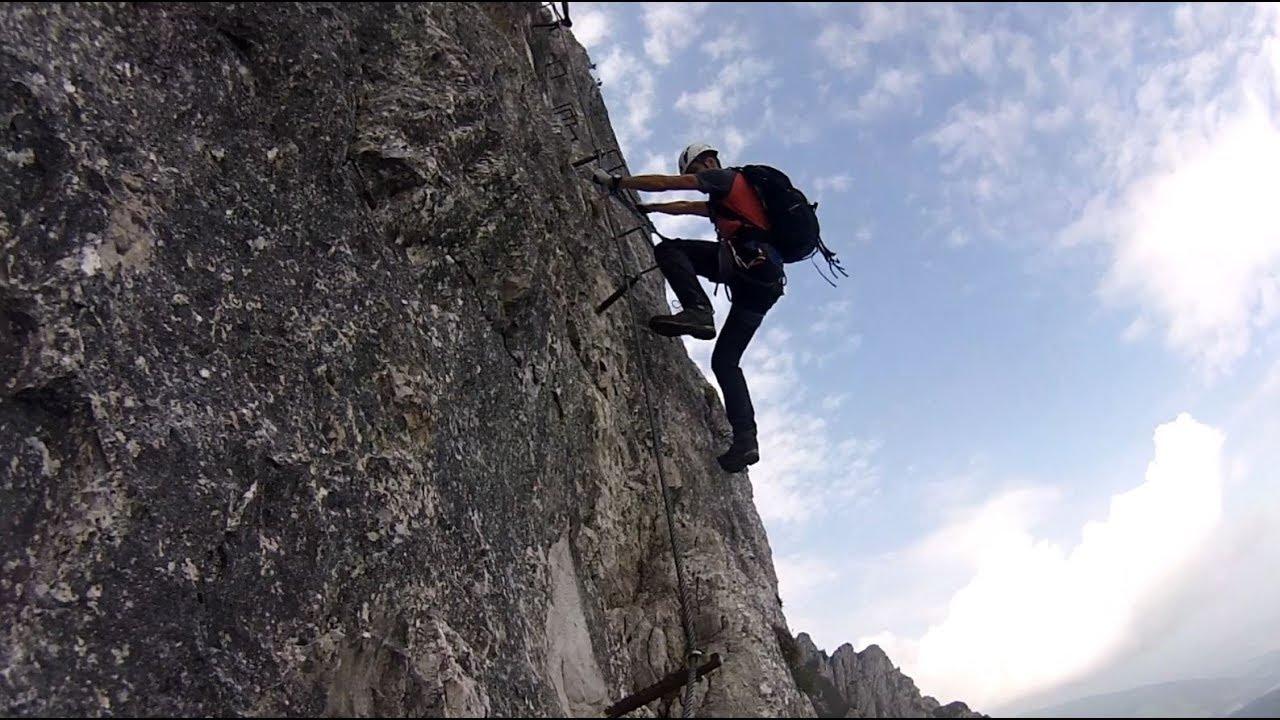Pidinger Klettersteig : Pidinger klettersteig september youtube