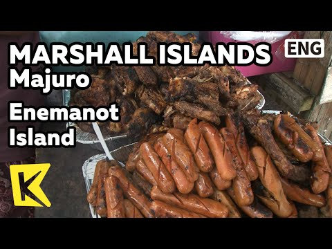 【K】Marshall Islands Travel-Majuro[마셜 여행-마주로]에네마노 섬, 바비큐 파티/Enemanot Island/Barbeque/Party/Coral Sand