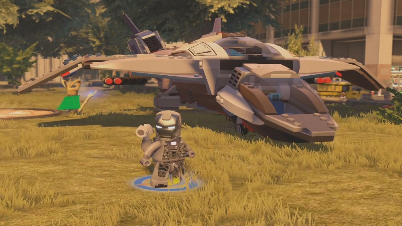 LEGO Marvel's Avengers - All 25 Air Vehicles in Action ...