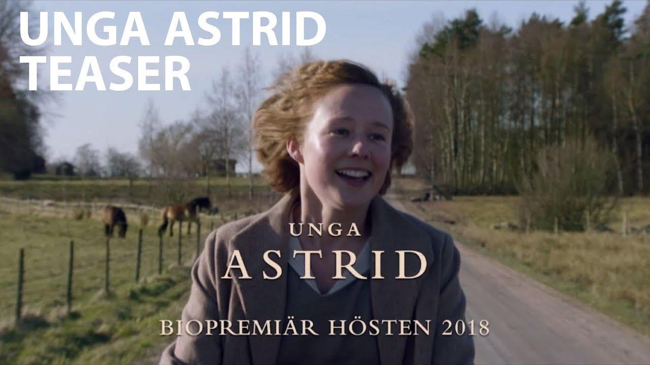Unga Astrid | Första teaser | Biopremiär 14 september