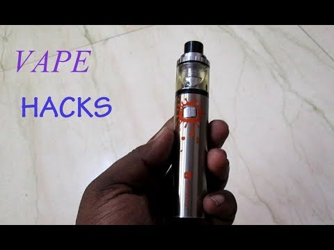 HOW TO CHANGE VAPE COTTON