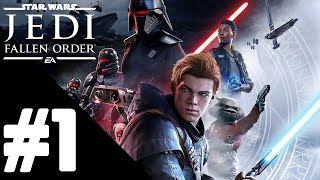 Star Wars Jedi: Fallen Order Walkthrough Gameplay Part 1 – PS4 1080p Full HD – No Commentary