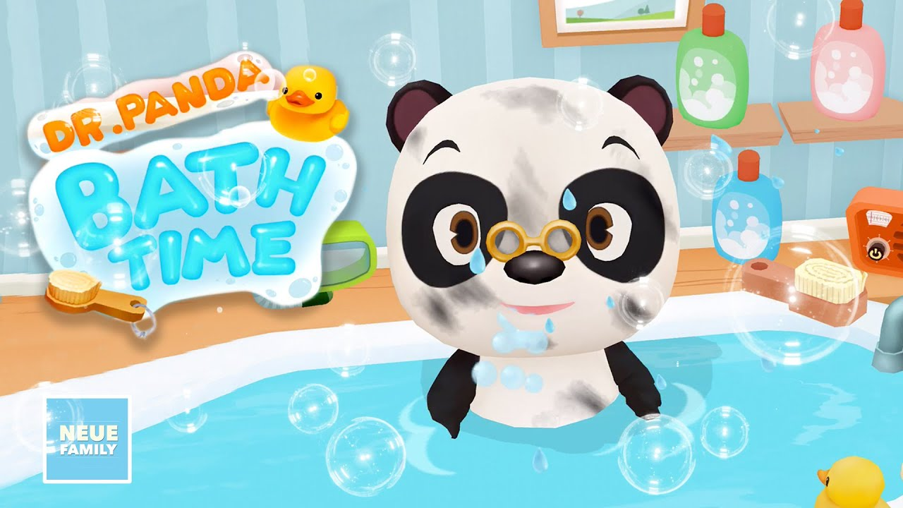 Learn all about hygiene with Dr Panda Bath Time  YouTube