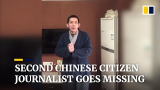 Fang Bin is second Chinese citizen journalist to vanish while reporting from coronavirus epicentre