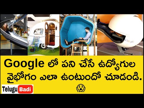 Google లో ఉద్యోగం ఎంత బాగుంటుందో చూడంది   Mind Blowing Facilities and Benefits of Google Employees