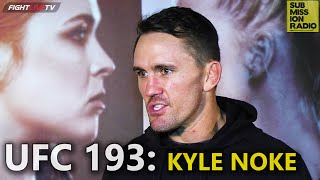 UFC 193: Kyle Noke talks brutal liver kick, wants 3 fights before April