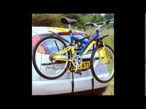 Bike Rack For Car With Spoiler Youtube