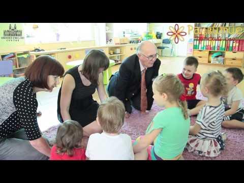 """Урок английского с носителем в частном детском саду """"Развитие"""""""