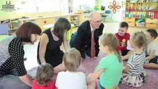 Урок английского с носителем в частном детском саду