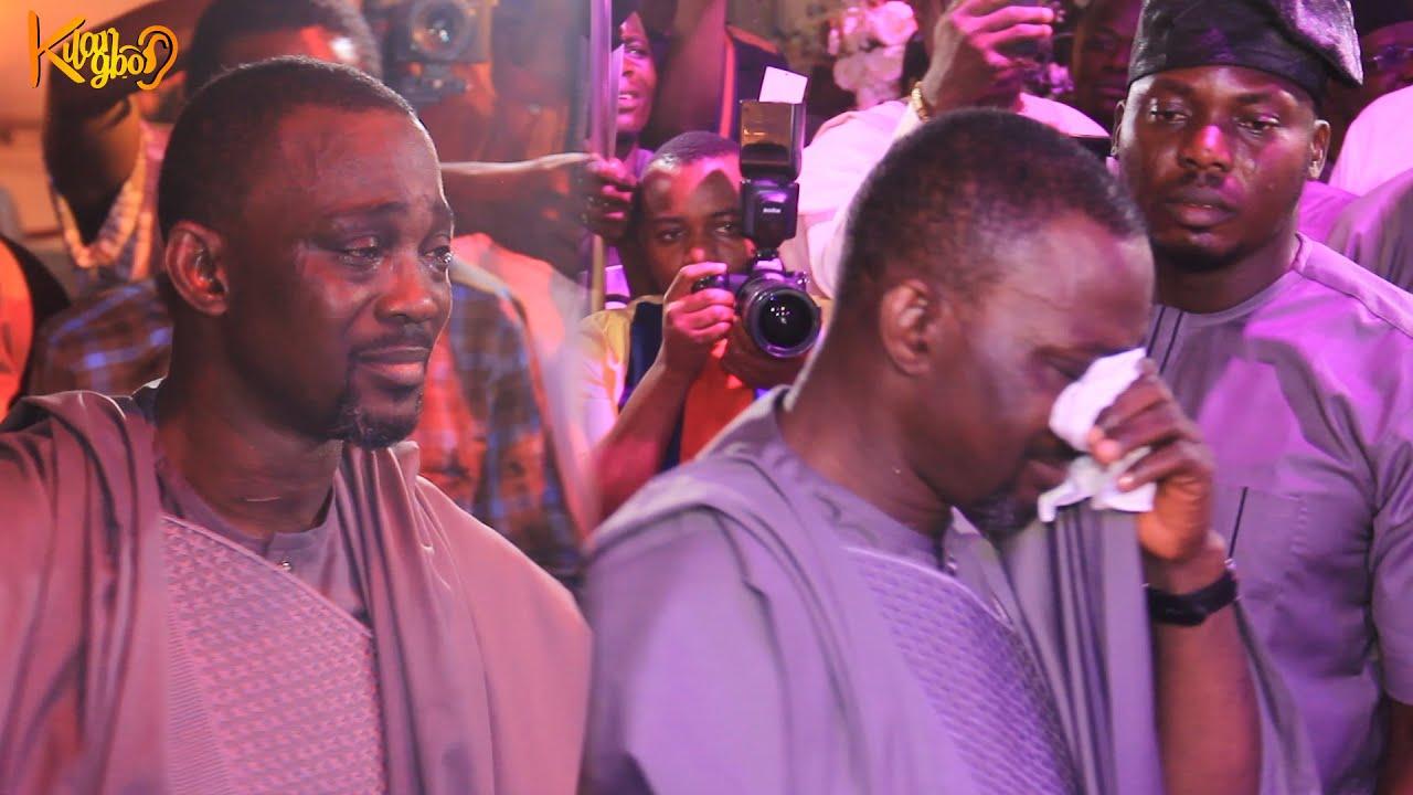 Download VETERAN PASUMA, CRIES TEARS OF JOY WATCHING K1 DE ULTIMATE EULOGIES HIM AT HIS DAUGHTER'S WEDDING