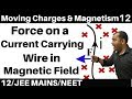 Download Video Moving Charges n Magnetism 12 : Force on a Current Carrying Conductor in Magnetic Field JEE/NEET MP4,  Mp3,  Flv, 3GP & WebM gratis