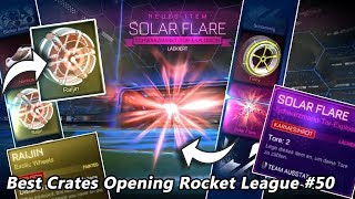 Best Crates Opening Rocket League #50