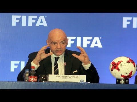 Watch: This is what FIFA President thinks about ongoing U17 World Cup