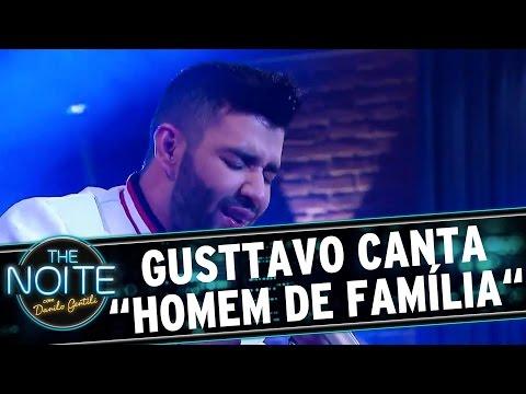 """The Noite (22/09/16) - Gusttavo Lima canta """"Homem de Família"""" no palco"""