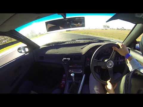 Tyson hall drifting 180sx hks2835 Mallala Motorsport Park 16/12/17