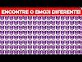TENTE ENCONTRAR OS EMOJIS DIFERENTES EM 20 SEGUNDOS!
