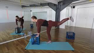 DEPOT Workout mit Wasserkasten
