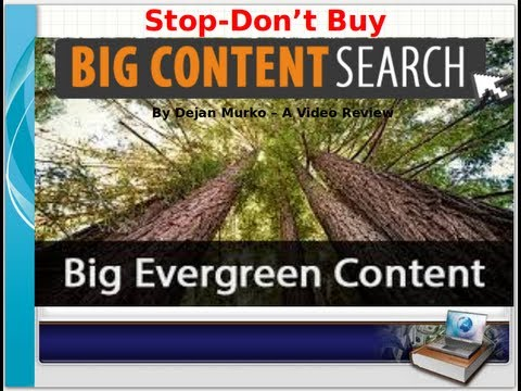 Big Content Search By Dejan Murko