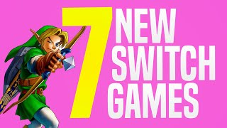 7 NEW Switch Gaṁes JUST Announced Coming to Nintendo eShop! (Switch Update Releases)