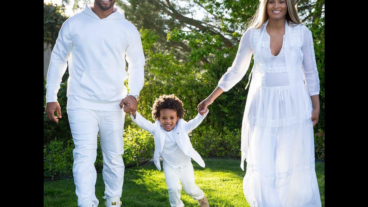 Beautiful Ciara U0026 Her Husband Russell Wilson Co Ed Baby Shower