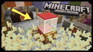 Попкорн машина в Minecraft PE 0.15.6 - 0.16.0 Без модов(Я VK: http://vk.com/frostdogvk • Мой instagram : https://www.instagram.com/youyoudogi/ ♧ Instagram Вики : https://www.instagram.com/ahmetova_999/ • Группа ..., 2016-08-25T09:19:23.000Z)