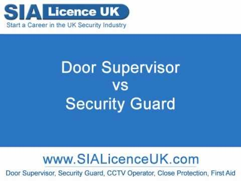 Door Supervisor Vs Security Guard  sc 1 st  YouTube & Door Supervisor Vs Security Guard - YouTube