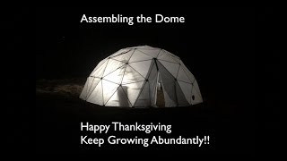 assembling-the-dome-gratitude-abundance-happy-thanksgiving