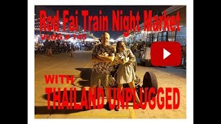 Rot Fai Train Night Market Bangkok Thailand