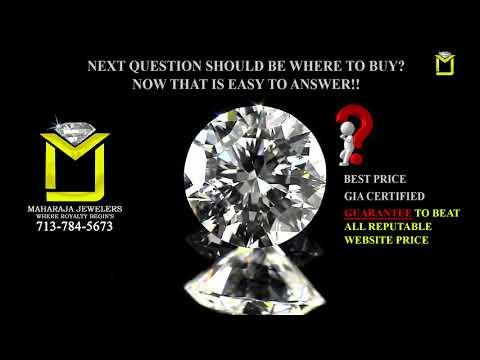4 C's of a Diamond | Maharaja Jewelers | Houston