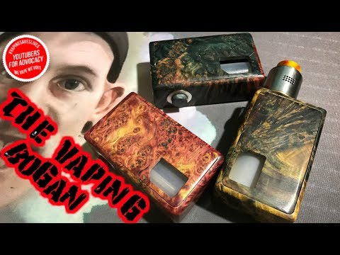 Keel Squonk Mod From Komge | Stab Wood | The Vaping Bogan
