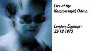 Elton John - Girls Love Alice (Live Hammersmith Odeon 1973)