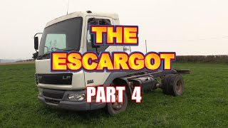 The Escargot - RV/Camper Car Transporter Conversion - Part 4