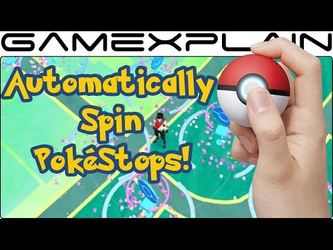 Poké Ball Plus Automatically Spins Poké Stops in Pokémon GO thumbnail
