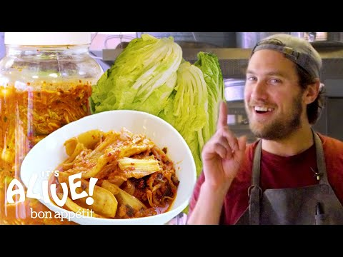 Brad Makes Kimchi | It's Alive | Bon App茅tit