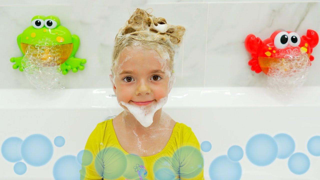 Bath Song - Kids Songs - Anabella and Bogdan
