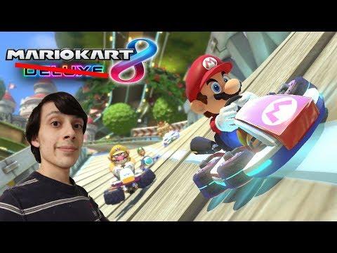 Mario Kart 8 Wii U, Then Mario Kart 8 Deluxe at 1:30PM EST!