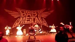 BABYMETAL - Babymetal Death (Live) at The Fillmore in Detroit, MI on 05.11.16