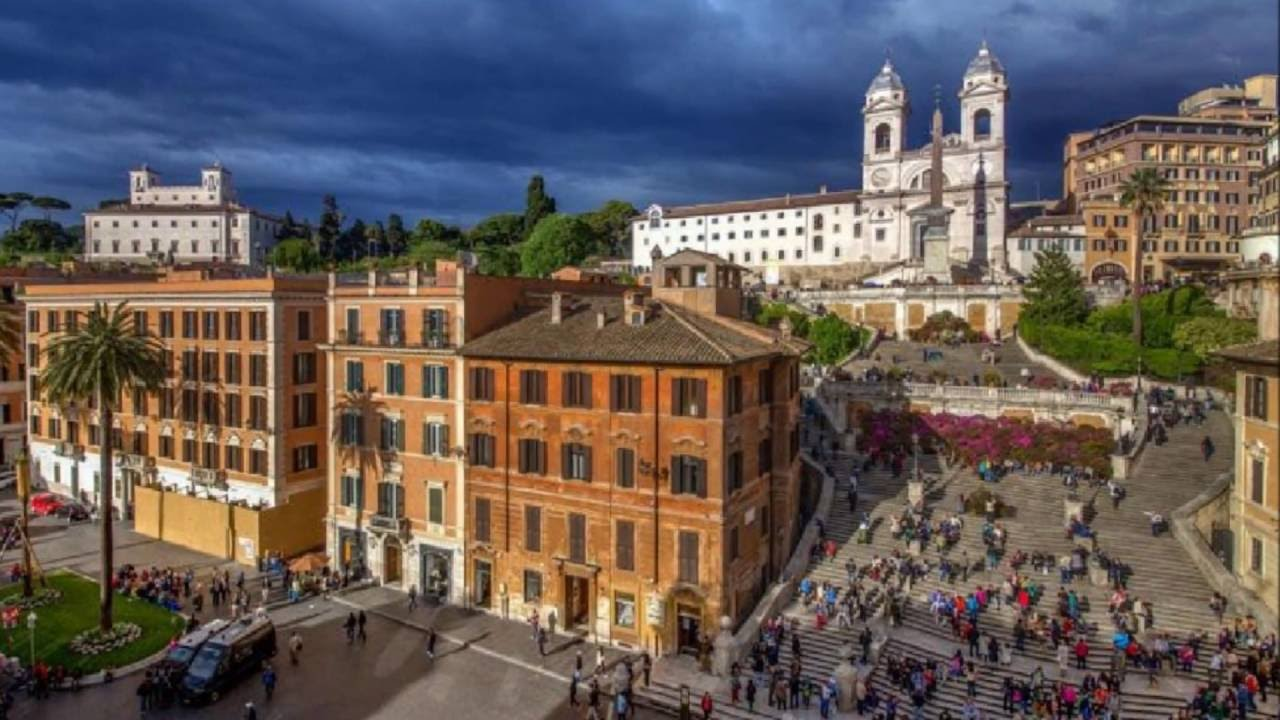 The Inn At The Spanish Steps Small Luxury Hotels Rome Italy
