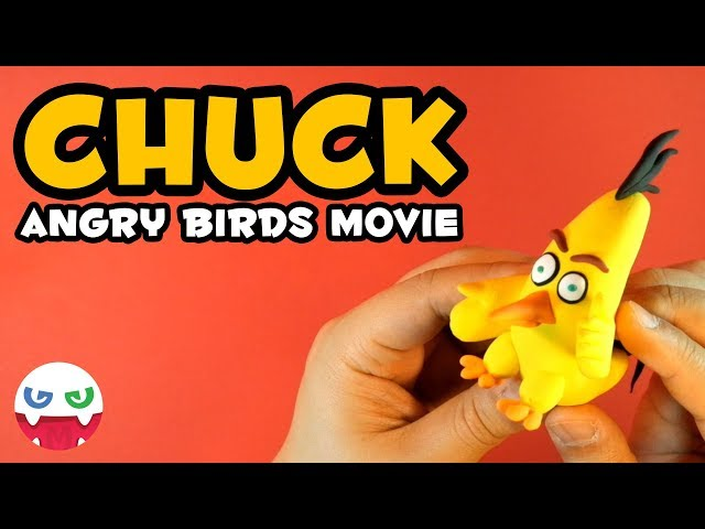How to Make a CHUCK with Clay [Angry Brids Movie]