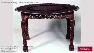 Asian Antique Dining Table Japanese Tables For Sale