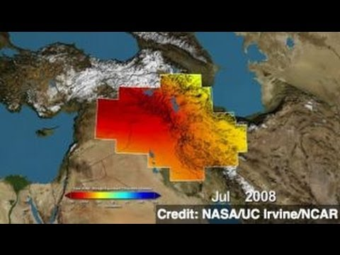 NASA Satellites Spot Middle East Water Loss
