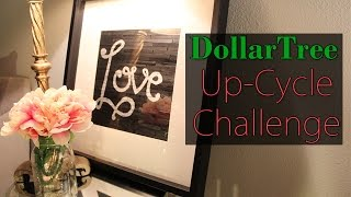 $5 Dollar Tree Up-cycle Challenge | Ikea Framed Art Hack