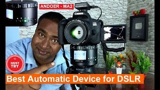 Try this Awesome Gadget   Best for DSLR users for Timelaps 360 D Panorama  photos & Videos