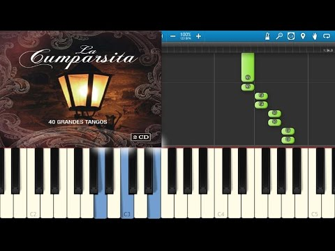 La Cumparsita  Piano Tuorial  HD